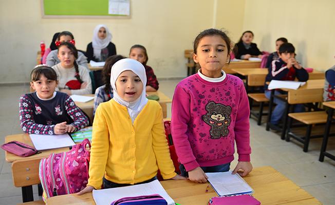 Kuveytli hayırseverlerden Urfa'da Suriyeli öğrencilere destek