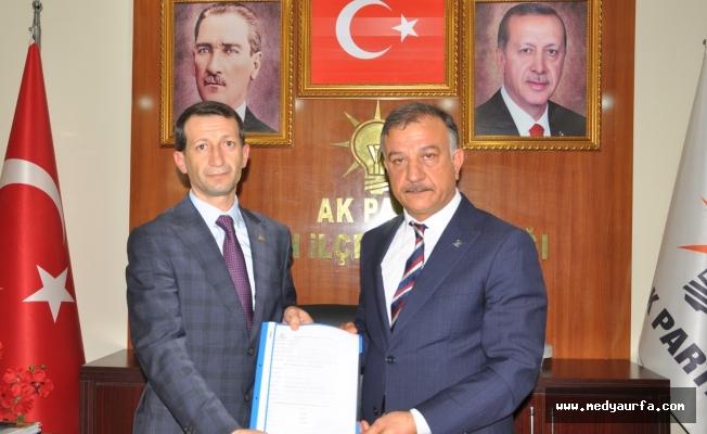 Mehmet Erkan Hilvan'da aday adayı oldu!