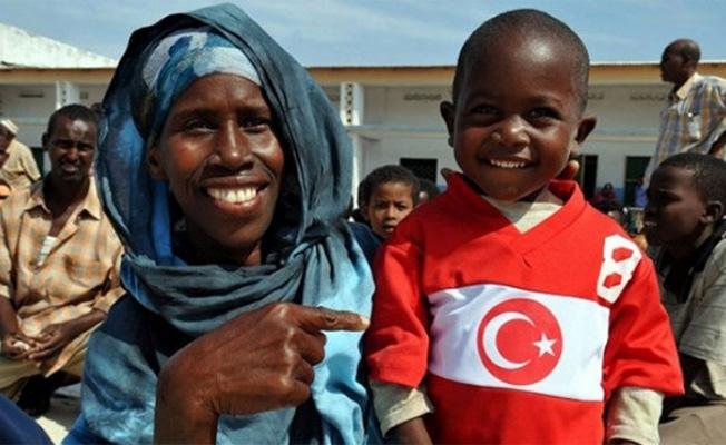 """""""Türkiye Cumhuriyeti dünyanın en cömert ülkesi"""""""