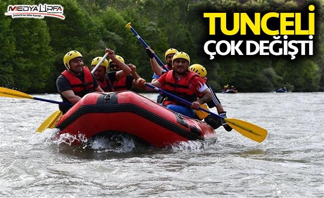 Dünya rafting şampiyonası Tunceli'de yapılacak!
