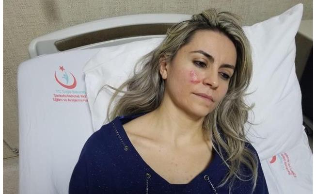 Urfa'da hasta yakını doktoru darp etti!