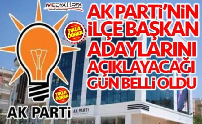 AK Parti adaylarını Cumartesi açıklayacak!