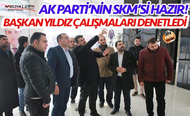 AK Parti'nin Urfa SKM'si açılışa hazırlanıyor!