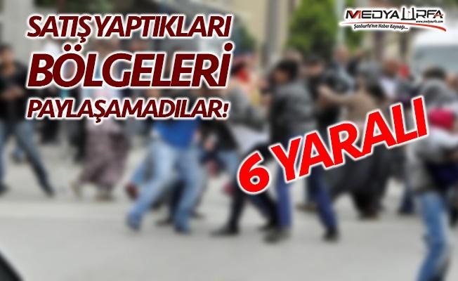 Haliliye'de esnaf kavgası: 6 yaralı