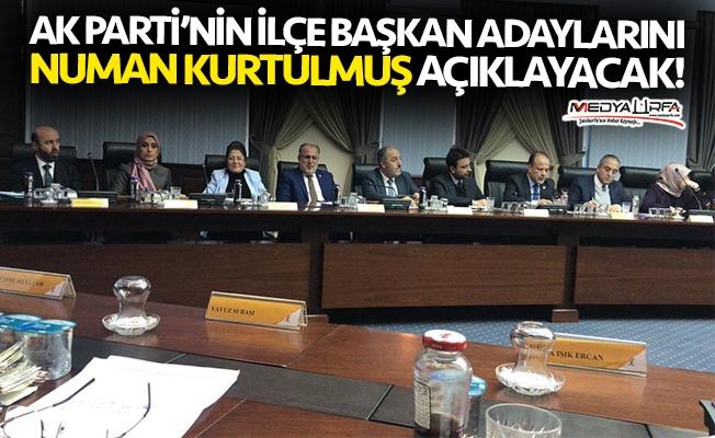 İşte Urfa başkan adaylarının açıklanacağı tarih!
