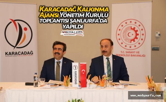 Karacadağ toplantısı Şanlıurfa'da yapıldı