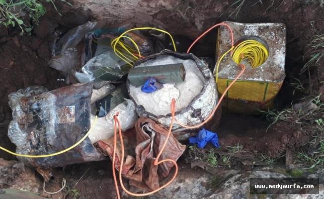 Mardin'de 150 kilogram patlayıcı yakalandı