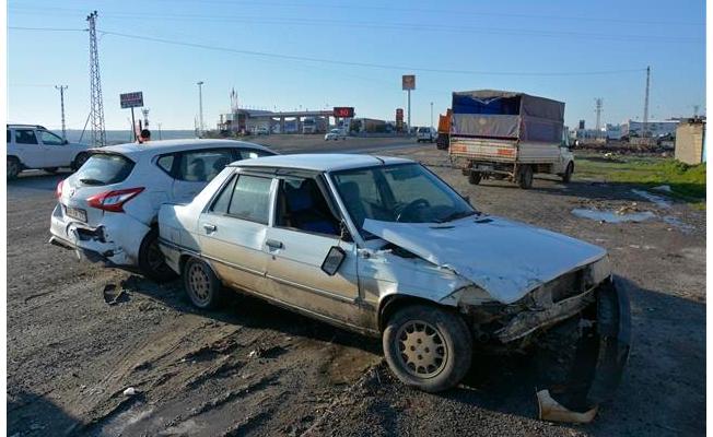 Siverek'te buz kazası: 1 yaralı