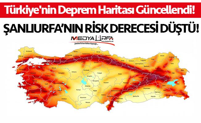 Urfa'nın deprem riski düştü!