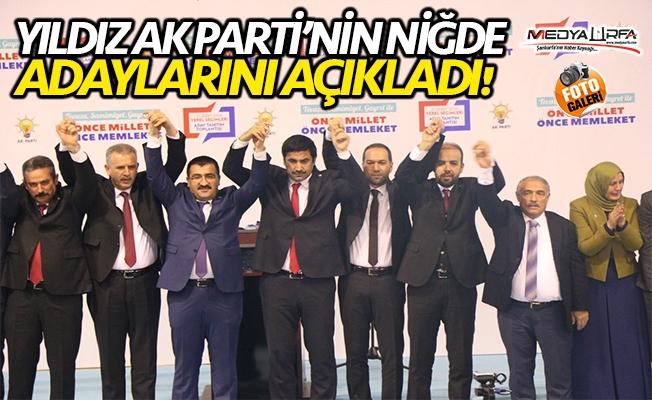 Yıldız AK Parti'nin Niğde adaylarını açıkladı!