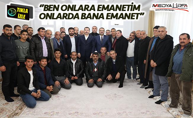 Baydilli Seyrantepe'de vatandaşlarla buluştu