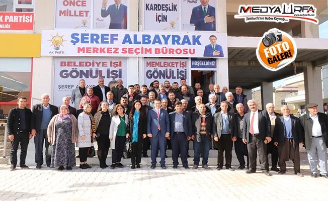 Halfeti'de AK Parti'ye destek çığ gibi büyüyor!