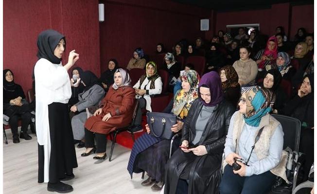 Karaköprü'de kadınlara stres yönetimi semineri!