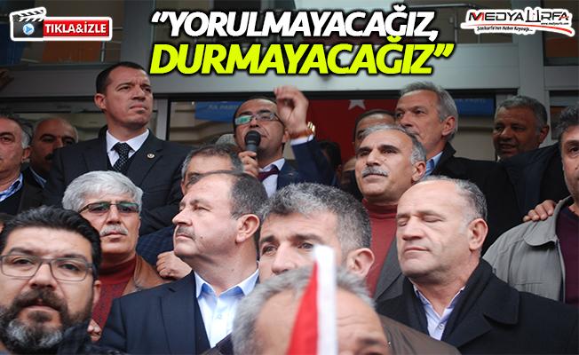 Kejan Aşiretinden AK Parti'ye destek!