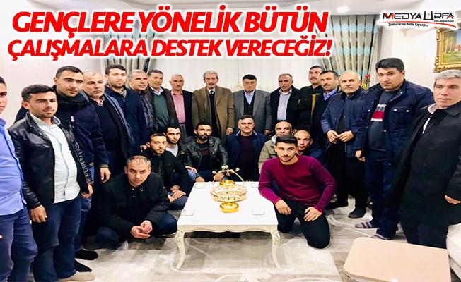 """Şeyhmus Aydın: """"Gönül bağı kurarak geliyoruz"""""""
