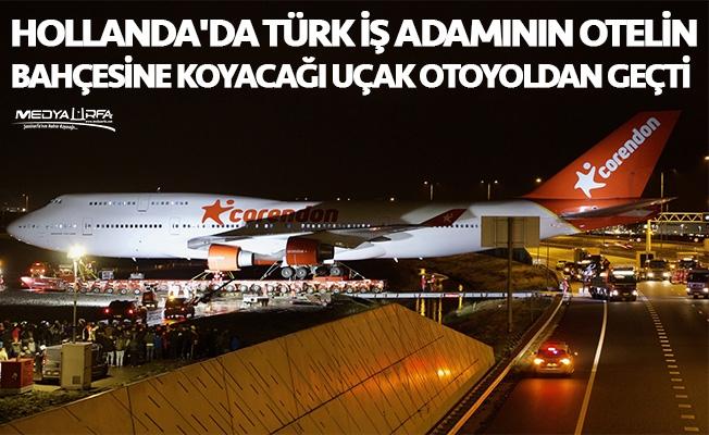 Türk iş adamı otelin bahçesine uçak koyacak