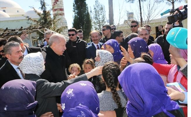 Cumhurbaşkanı Erdoğan Cuma Namazını Urfa'da Kıldı
