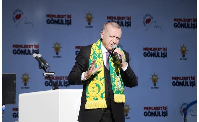 Erdoğan: Bu Trenden İnenler Bir Daha Bu Trene Binemezler