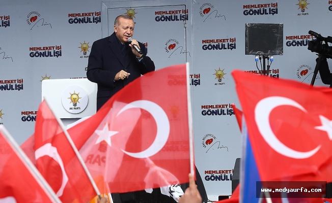 Erdoğan'ın Urfa Mitingi (Canlı)