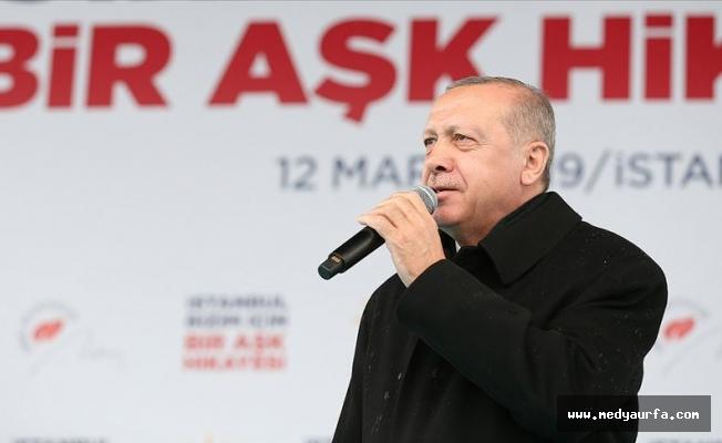 Erdoğan: Millete diz çöktürtemeyecekler