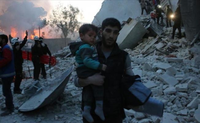 İdlib'e hava saldırısı: 5 ölü
