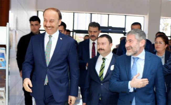 Nureddin Nebati Şanlıurfa OSB'yi ziyaret etti
