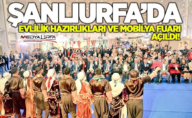 Şanlıurfa'da Evlilik Hazırlıkları ve Mobilya Fuarı Açıldı