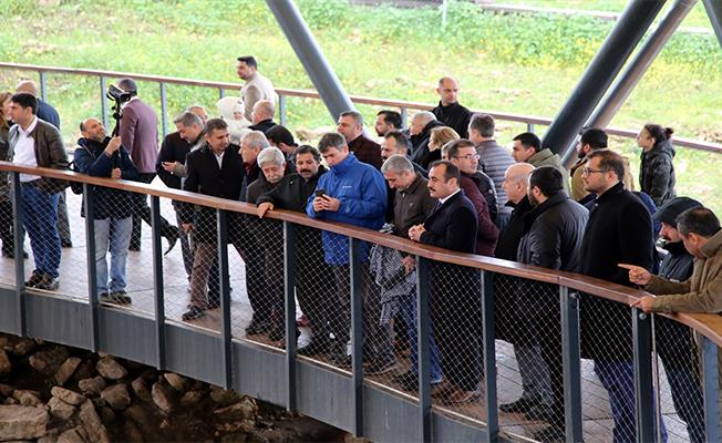 TBB üyeleri Göbeklitepe'yi ziyaret etti