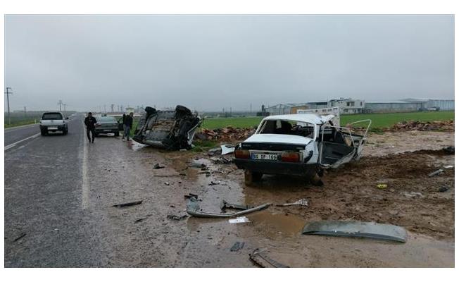 Urfa Milletvekili Trafik Kazası Geçirdi