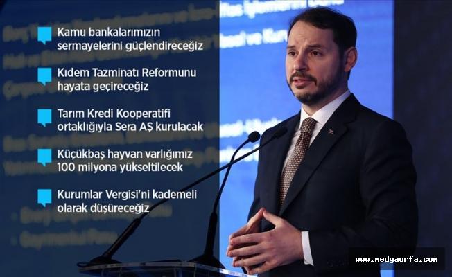 Albayrak reform paketini açıkladı