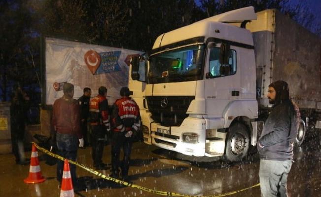 Bayburt'ta tır şoförü aracında ölü bulundu.