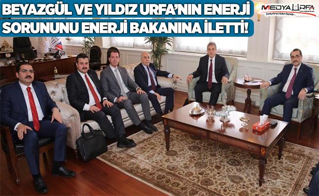 Beyazgül Enerji sorununu Bakana iletti!