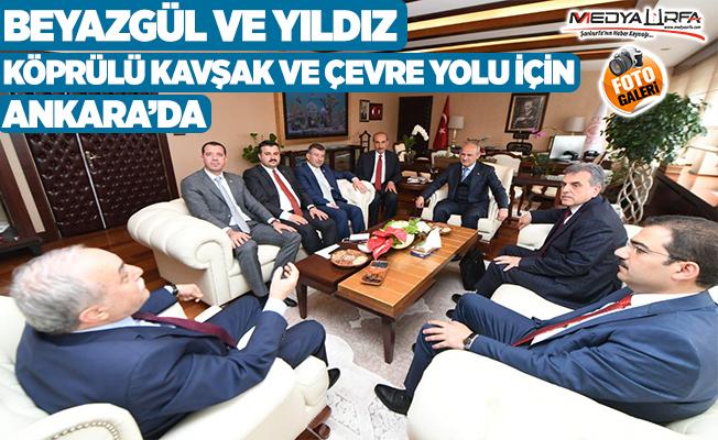 Beyazgül ve Yıldız sorunların çözümü için Ankara'da