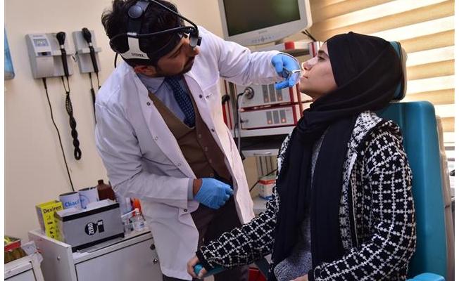 Ceylanpınar'da revizyon rinoplasti ameliyatı yapıldı
