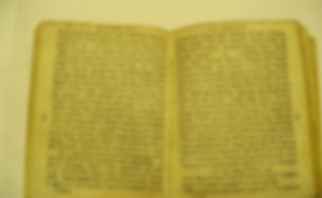 Diyarbakır'da bin 100 yıllık İbranice kitap ele geçirildi