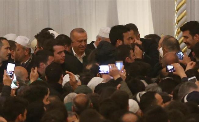 Erdoğan Büyük Çamlıca camisinde!