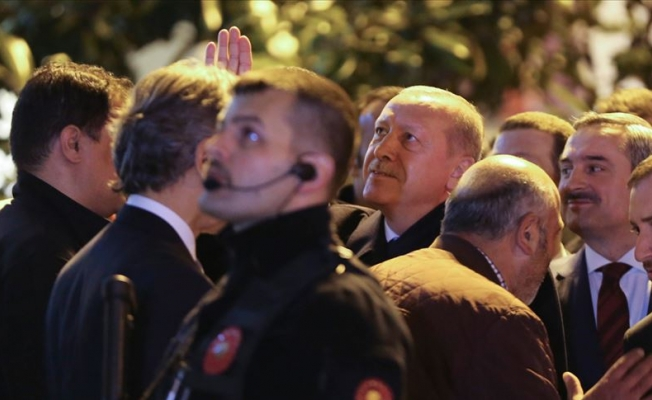 Erdoğan vatandaşlarla sohbet etti