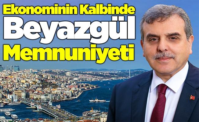 Ekonominin kalbi İstanbul'da Beyazgül sevinci!