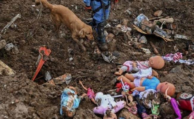 Kolombiya'da toprak kayması: 17 ölü
