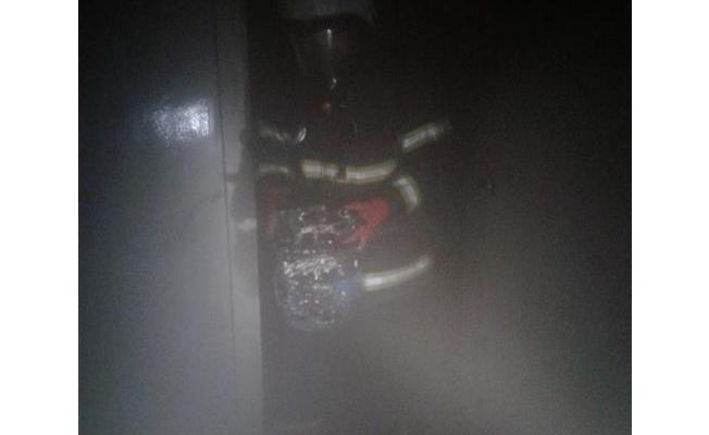 Şanlıurfa'da iş yerinde yangın