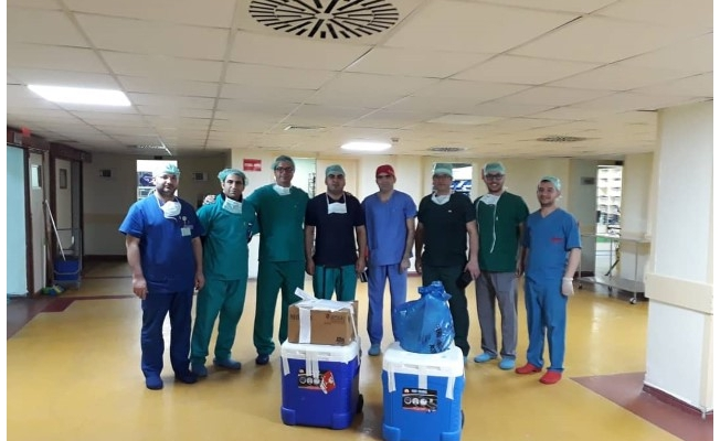Ustalar'ın organları 5 kişiye can oldu