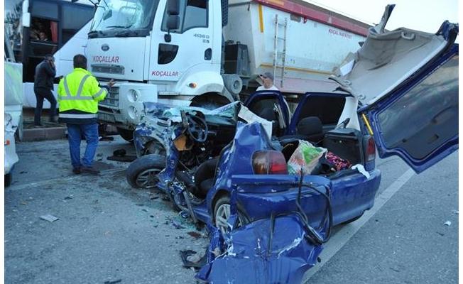 Yozgat'ta trafik kazası: 3 ölü, 8 yaralı