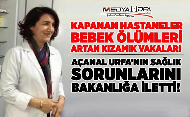 Açanal Urfa'nın sağlık sorunlarının çözümü için devrede!