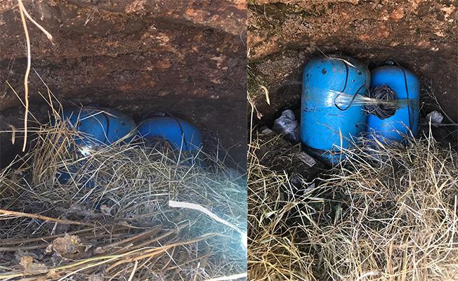 Akçakale'de 70 kilogram patlayıcı bulundu