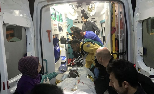Ardahan'da taş ocağında patlama: 4 yaralı