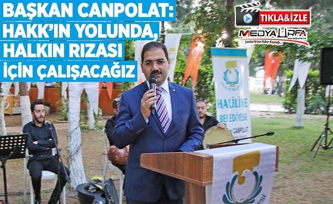 Canpolat: Ramazan Haliliye'de yaşanır