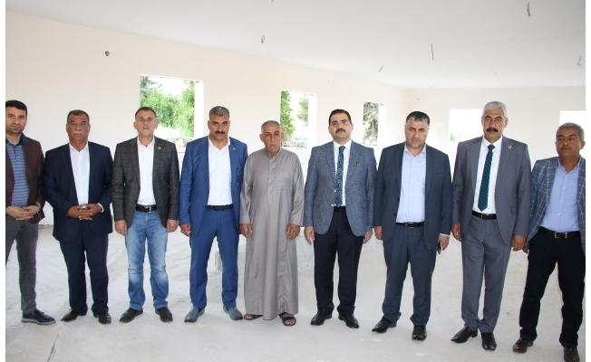 Haliliye'de 10 mahallede Taziye evi inşaatları tamamlanıyor