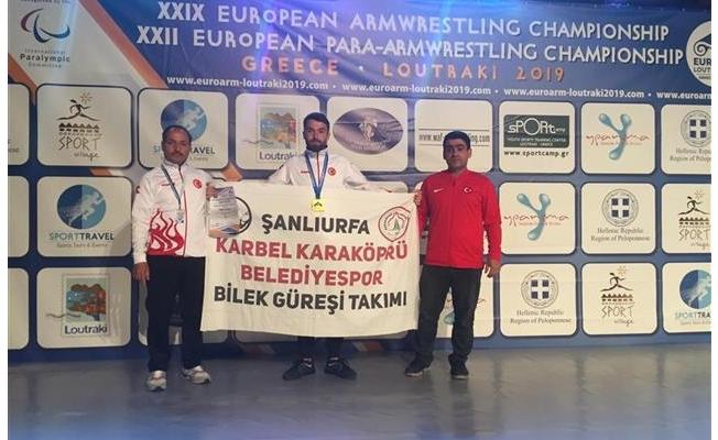 Karaköprülü sporcu dünya şampiyonu oldu