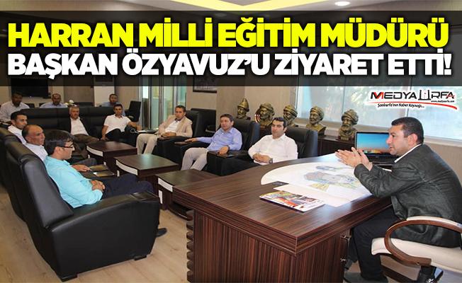 Milli Eğitim Müdürü, Özyavuz'u ziyaret etti
