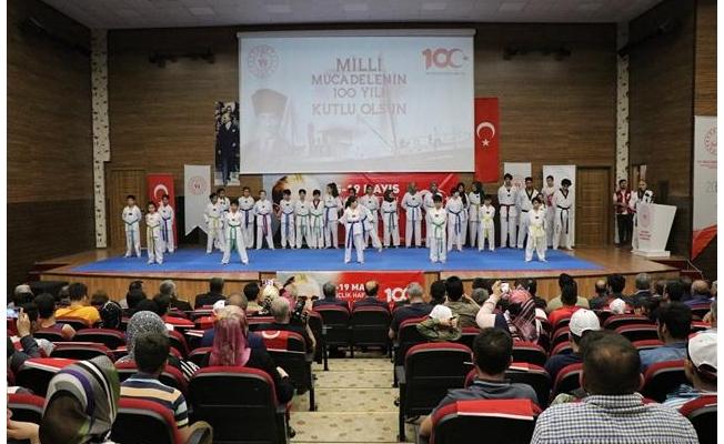 Şanlıurfa'da 19 Mayıs kutlaması